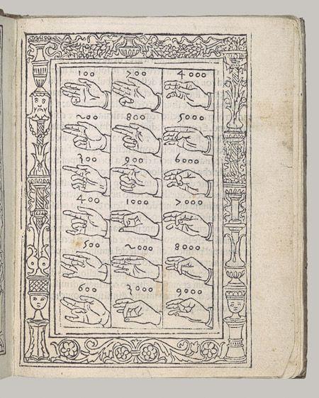 Aritmetica, by Filippo Calandri . Florence: Lorenzo Morgiani & Johannes Petri, January 1, 1491/92  Book with printed text and woodcut illustrations