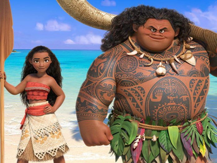 """Here's a first look at The Rock singing a Lin-Manuel Miranda song from """"Moana"""""""