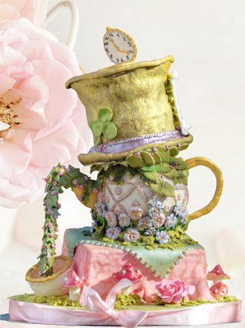 Hochzeitstorten mit Blüten in allen Farben Design für Romantik und Treue « Cake and more