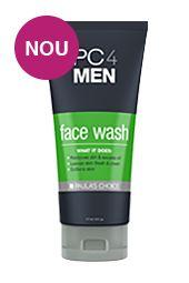 #pc4men face wash for men