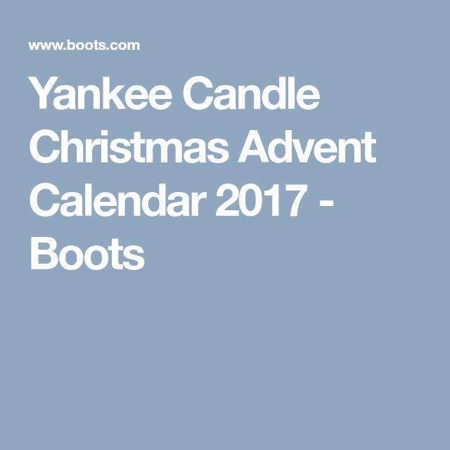 Yankee Candle Christmas Advent Calendar 2017 - Boots