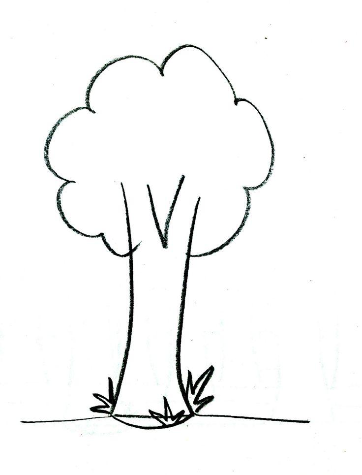 Αποτέλεσμα εικόνας για δέντρο σκίτσο