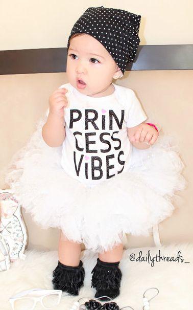 Princess Vibes onesie - too cute
