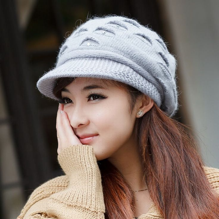 >> Click to Buy << Hat female winter autumn and winter knitted hat female rabbit fur knitted hat ear cap protector cold autumn  warm beanies #Affiliate
