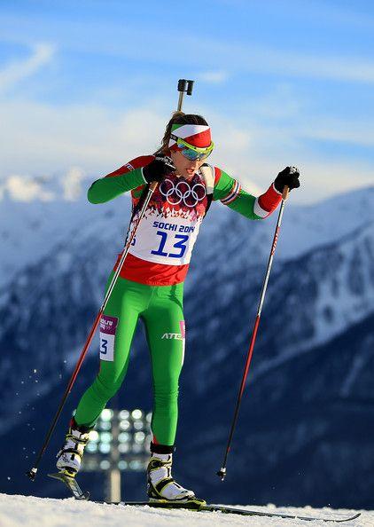 Darya Domracheva Photos: Winter Olympics: Biathlon