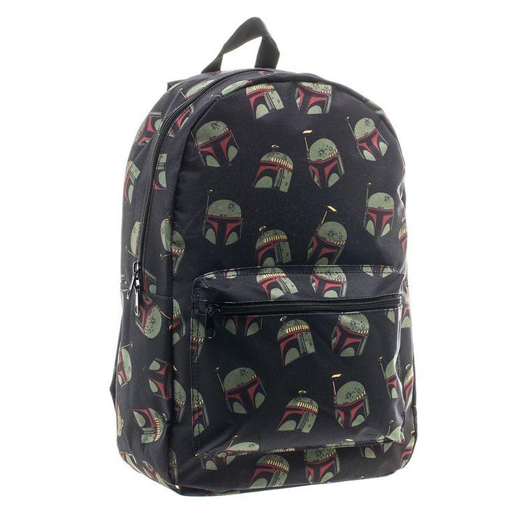Star Wars Boba Fett Helmet Backpack, Black