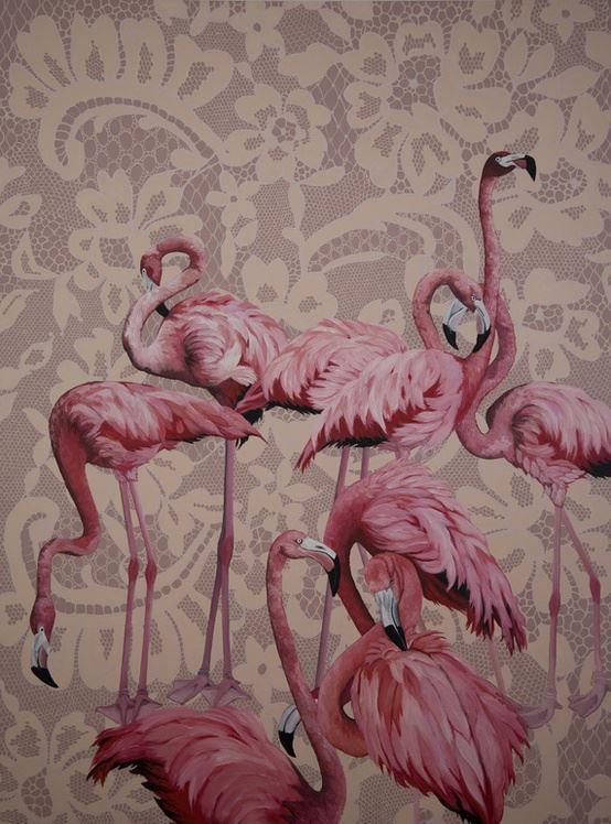 #flamingos #pink #iloveit