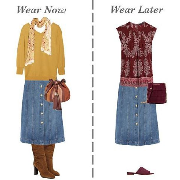 this week i am starting on creating a new spring example capsule wardrobe as the autumn