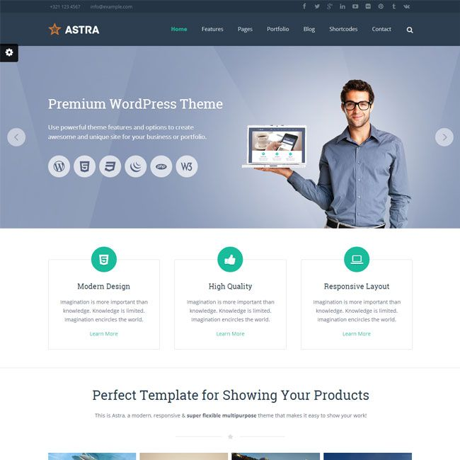 231 best Best Creative WordPress Themes images on Pinterest ...