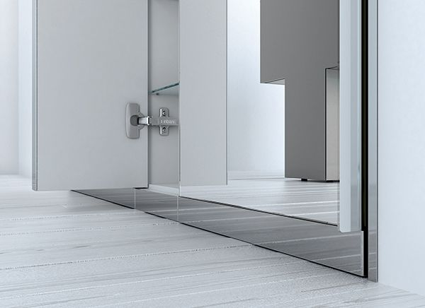 The #mirror of Ka collection by Inbani functions as a single piece or as a coating, with the possibility of becoming an integrated container. Detail. #design #furniture #bathroom