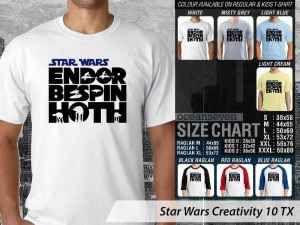 Kaos Star Wars Stormtrooper, Kaos Star Wars Chewbacca, Kaos Star Wars Han Solo, Kaos Star Wars Light Saber