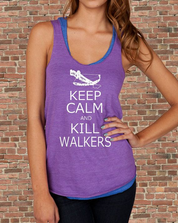 Keep Calm and KILL WALKERS Zombies The Walking Dead