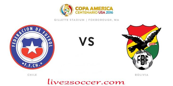 Chile vs Bolivia Copa America 2016 Watch Live Streaming Online Is Here Now. Watch Copa America Cup Centenario 2016 Chile vs Bolivia Live Stream TV 11th June