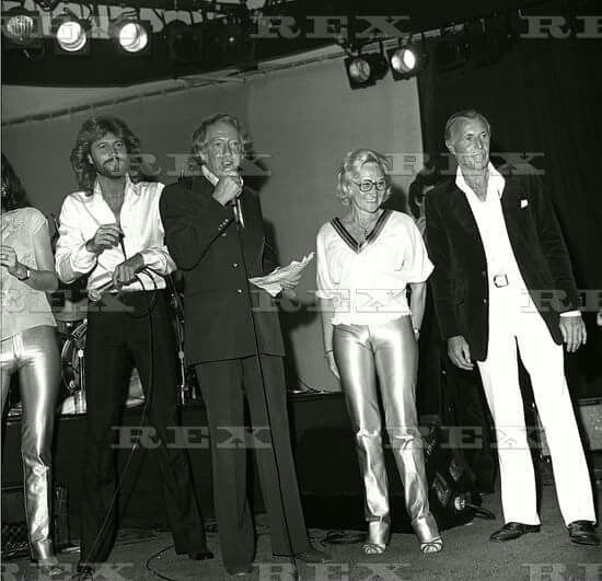 Bee Gees + Mom & dad.
