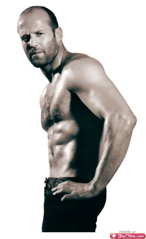 I will meet Jason Statham & let him know he is the hottest piece of ass EVER!