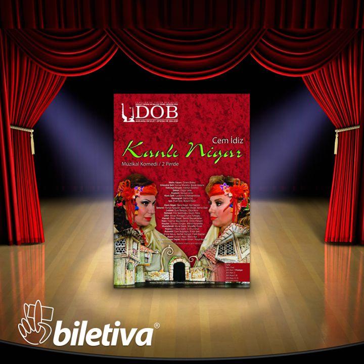 Geleneksel Türk Tiyatrosu'nun en önemli figürlerinden biri olan Nigar'ın acıklı, komik müzikli, danslı serüveninin anlatıldığı Kanlı Nigar Ankara Devlet Opera ve Balesi Leyla Gencer Sahnesi'nde… #KanlıNigar #musical #theatre #opera