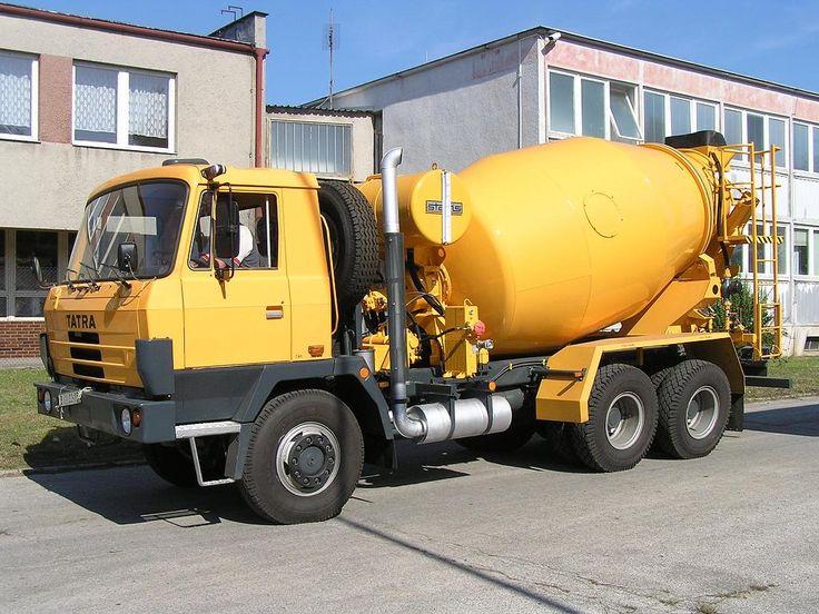 Tatra cement mixer