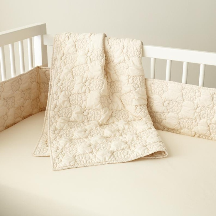 u003c3 for gender neutral baby crib bedding baby white sheep themed crib bedding set