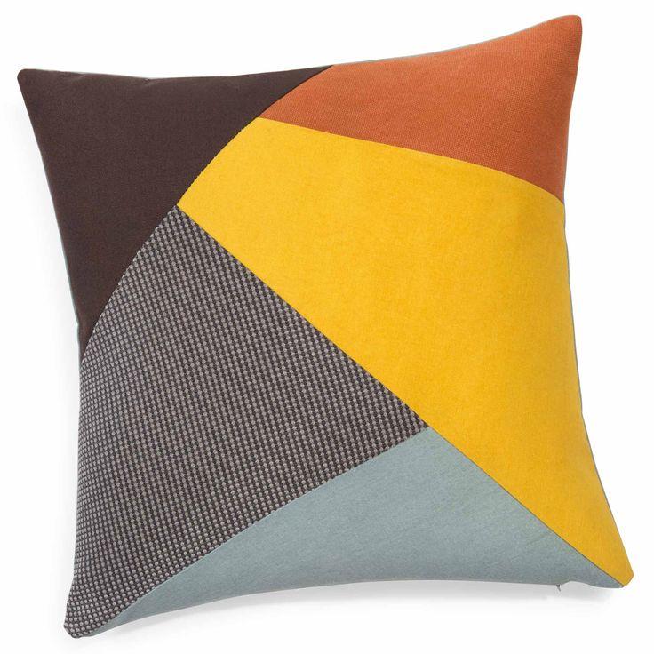 Coussin en coton multicolore 40 x 40 cm OLLE