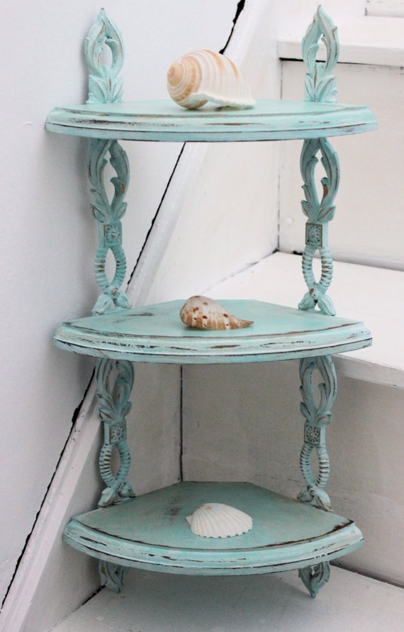 Love this. Vintage 3 Tier Shelf Sexton USA  Beach Chic by WhimsicallyMellow, $34.00