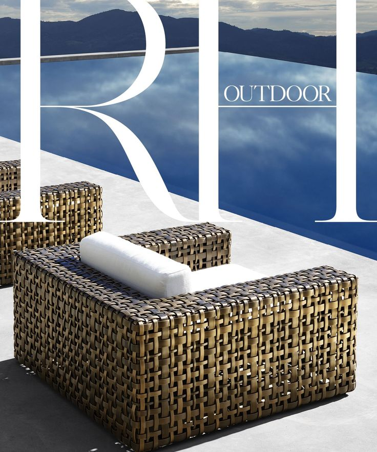 RH  announced today the debut of the 2017 RH Outdoor Source Book. At more than 300 pages, this design resource presents the most comprehensive collection of quality outdoor furniture in the world.