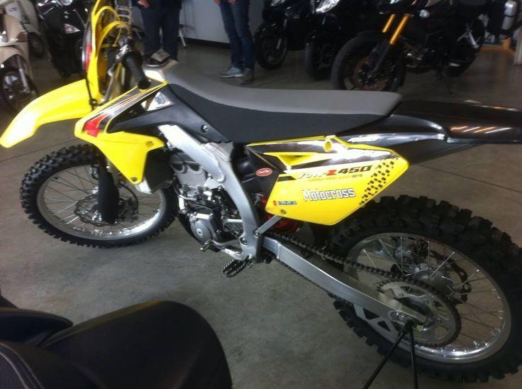 Suzuki rmz450 Carmichael