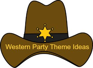 Lots of ideas for throwing a western theme party for your cowboy or cowgirl.