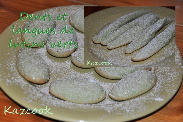 une recette pour Noël, vanillée, simple et délicieuse :) et pas que pour les enfants héhé !!  http://kazcook.com/blog/archives/449-Dents-et-langues-de-lutins-verts...-Nol-inside.html Kaz