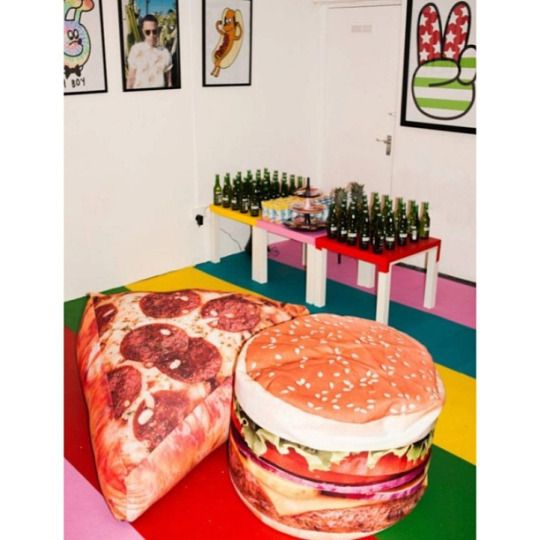 food IS furniture  TEETH MAG
