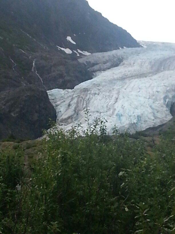 Glacier feom aback
