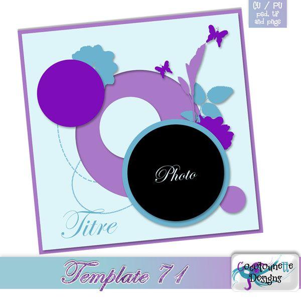 Template 71 freebie by Cocotounette http://cocoscrapbook.blogspot.it/2016/05/template-71-freebie.html