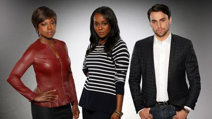 How to get Away with Murder. New Shonda Rhimes ABC show.  Calling it now, HIT SHOW!