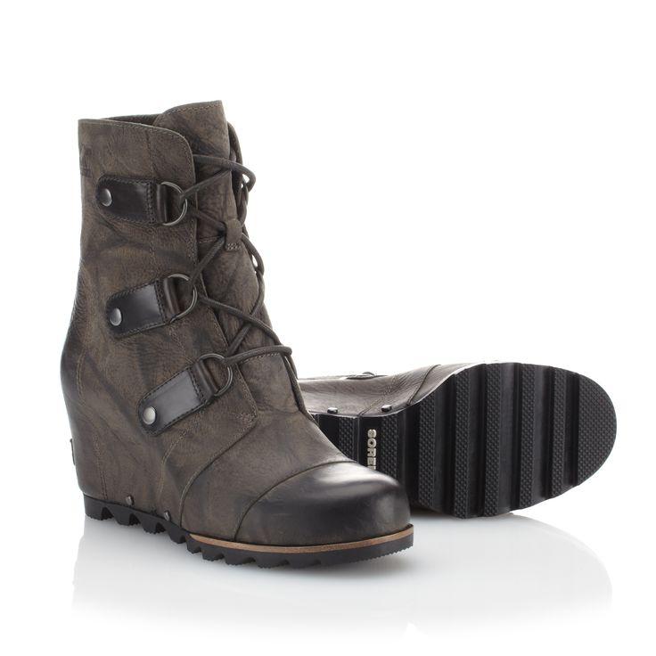 Sorel Joan Of Arctic Wedge Mid Boot (Women's) - Winter Boots - Rock/Creek