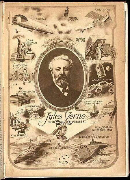 Julio Verne y sus visiones