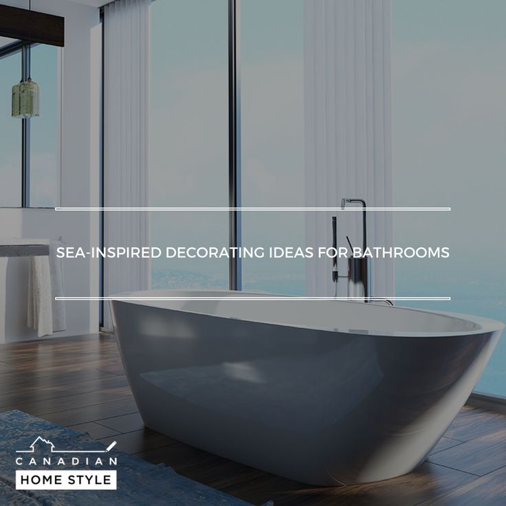 Stuck in the city for the summer, but craving the seaside? Use the ocean as inspiration for making your bathroom a seaside-inspired space: http://bit.ly/2pe6xYF