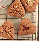 ガトーショコラのバレンタインレシピ「プチハートのガトーショコラ」