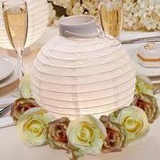 paper lantern centerpieces lights - Google Search