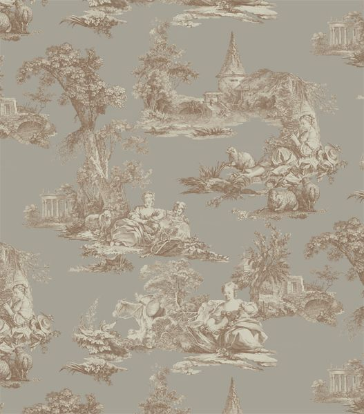 Toile de Jouy style design - www.surfacesdesign.ru