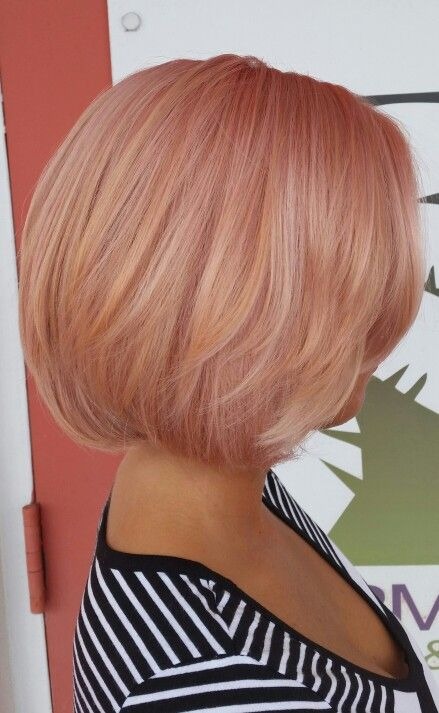 Rose gold hair. By: Amanda Chamberlain @ sharmaines salon and day spa -OMG I LOVE THIS!! I think I found my next color!