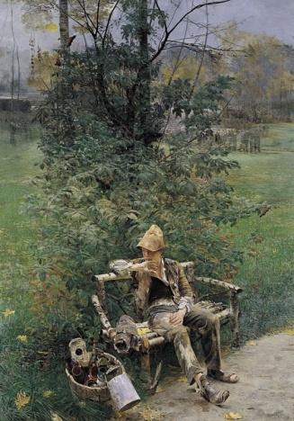 Jacek Malczewski, Malarczyk, 1890