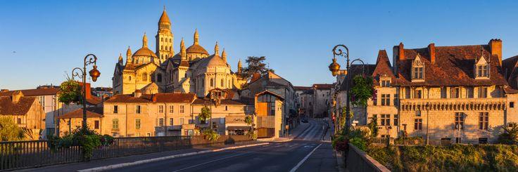 Cathédrale byzantine Saint-Front, Pont des Barris, Périgueux