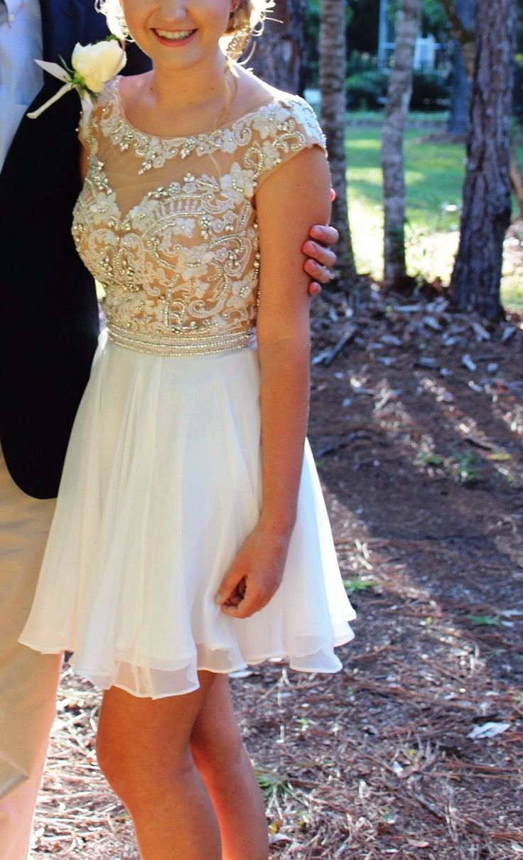 Cool Awesome Sherri Hill Short Prom/Homecoming Dress,Ivory, Amazing Bead Work,Size 0 2018 Check more at http://24shopme.ml/fashion/awesome-sherri-hill-short-promhomecoming-dressivory-amazing-bead-worksize-0-2018/