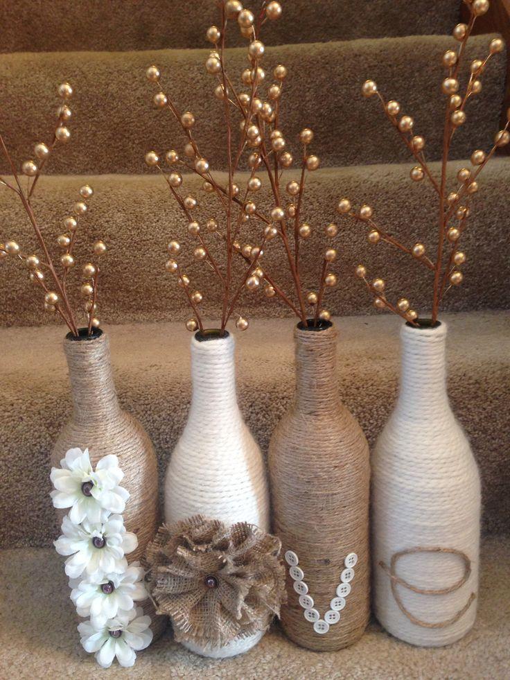 184 best images about diy wine bottle crafts on pinterest for Diy wine bottle crafts pinterest