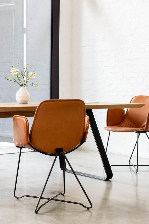 Like Leather Mit Armlehne Designer Stuhl Armlehne Stuhl Filigran Leather Armchair Dining Chairs Armchair