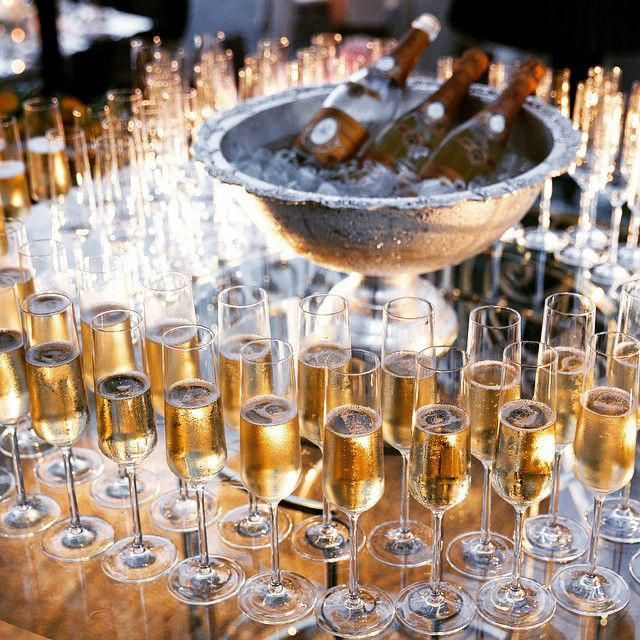 Following Your Wedding Ceremony With A Champagne-and-cake