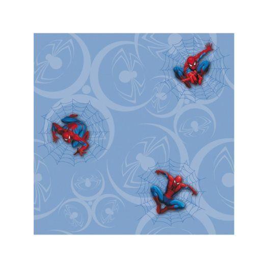 Disney - Spiderman Tapet Blå