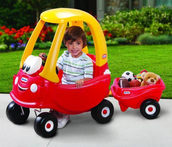 Maşinuţă cu Remorcă Cozy Coupe de la Little Tikes
