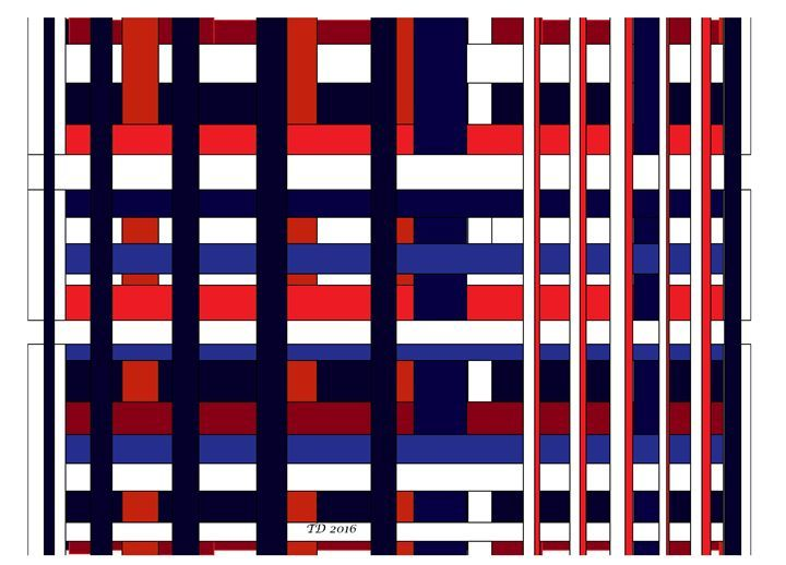 Stripe Abstract I - TateDevros