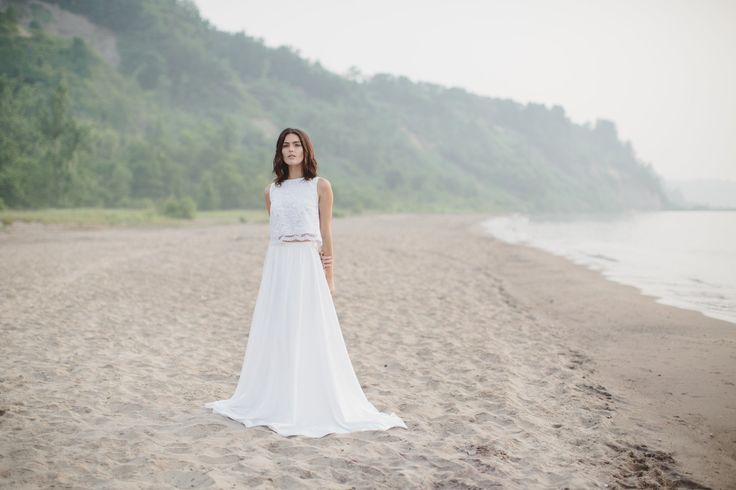 & FOR LOVE 2-piece wedding look // The Charley