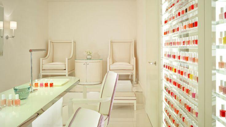 The Dorchester Spa Manicure and Pedicure Suite
